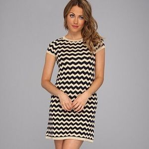 Lilly Pulitzer Santana Chevron Sweater Dress L